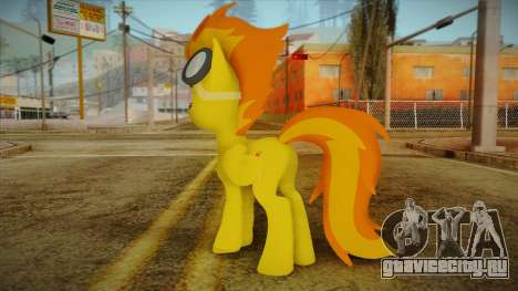 Spitfire from My Little Pony для GTA San Andreas второй скриншот