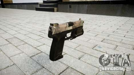Пистолет HK USP 45 erdl для GTA 4 второй скриншот