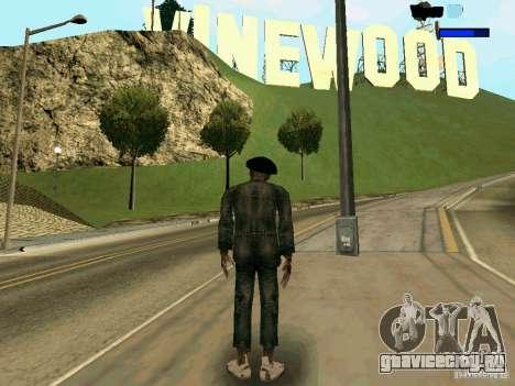 Cкин Benito из Stalker для GTA San Andreas второй скриншот