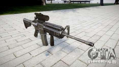 Автоматический карабин M4 Sirs Tactical для GTA 4