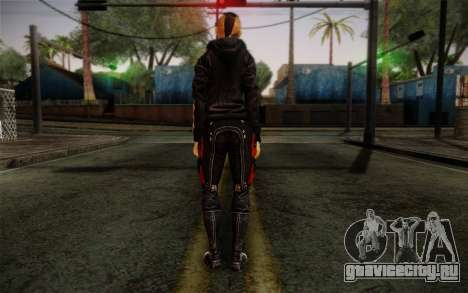 Jack Hood from Mass Effect 3 для GTA San Andreas второй скриншот