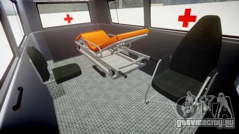 Barkas B1000 1961 Ambulance для GTA 4 вид изнутри