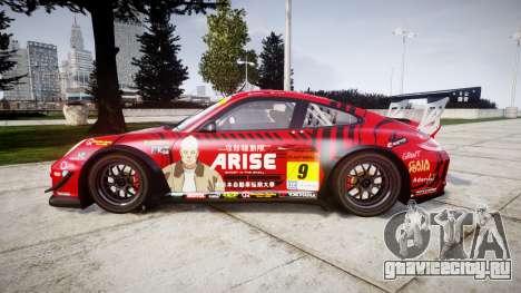 Porsche 911 Super GT 2013 для GTA 4 вид слева