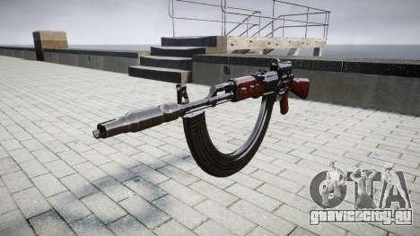 Автомат АК-47 Collimator. Muzzle and HICAP targe для GTA 4