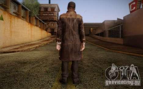 Aiden Pearce from Watch Dogs v10 для GTA San Andreas второй скриншот