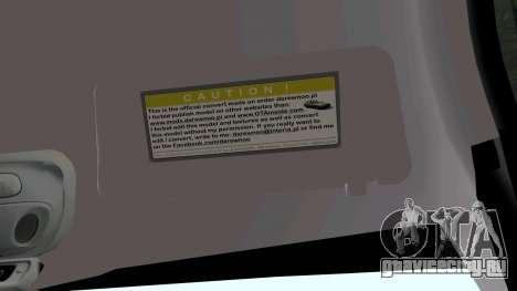 Daewoo Nubira I универсал CDX США, 1999 г. для GTA San Andreas