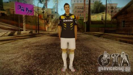 Footballer Skin 3 для GTA San Andreas
