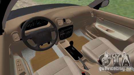 Daewoo Nubira I универсал CDX США, 1999 г. для GTA San Andreas вид снизу
