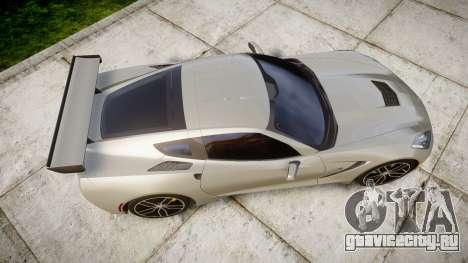 Chevrolet Corvette C7 2014 Tuning для GTA 4 вид справа