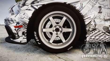 Ford Mustang Shelby GT500 2013 Sharpie для GTA 4 вид сзади