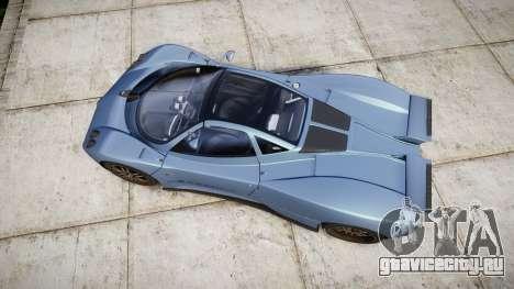 Pagani Zonda C12 S 7.3 2002 PJ1 для GTA 4 вид справа