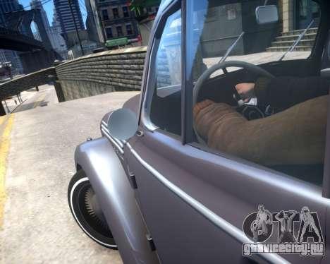 Москвич 400 для GTA 4 вид сбоку