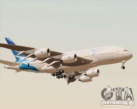 Airbus A380-800 Garuda Indonesia для GTA San Andreas вид справа