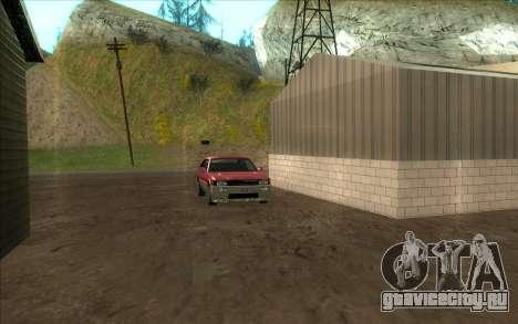 Дорожная автомастерская Сиджея для GTA San Andreas четвёртый скриншот
