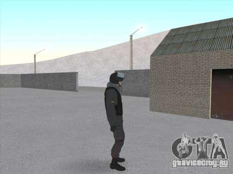 Солдат ВВ МВД РФ для GTA San Andreas четвёртый скриншот