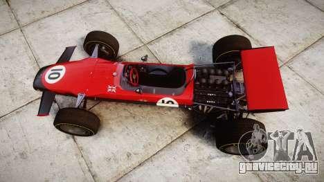 Lotus Type 49 1967 [RIV] PJ9-10 для GTA 4 вид справа