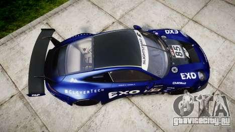 RUF RGT-8 GT3 [RIV] EXO для GTA 4 вид справа