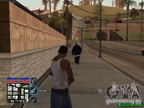 C-HUD by SampHack v.4 для GTA San Andreas
