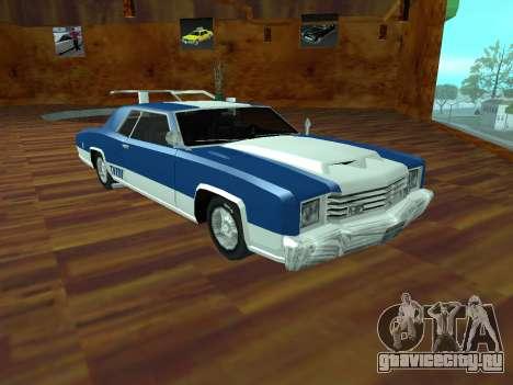 Buccaneer Turbo для GTA San Andreas