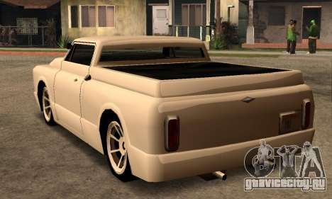 Beta Slamvan для GTA San Andreas вид справа
