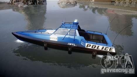 GTA V Police Predator для GTA 4 вид слева