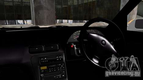 Nissan Silvia S13 Camber Style для GTA San Andreas вид сзади слева