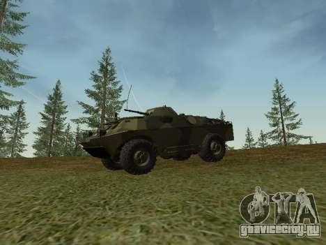 БРДМ 2 для GTA San Andreas вид слева