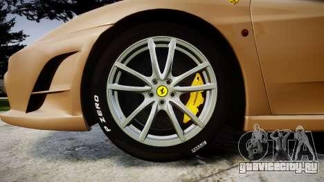 Ferrari F430 Scuderia 2007 plate F430 для GTA 4 вид сзади