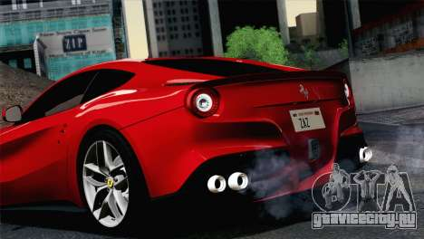 Ferrari F12 Berlinetta 2013 для GTA San Andreas вид сзади слева