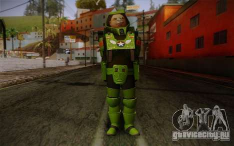 Space Ranger from GTA 5 v1 для GTA San Andreas