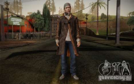 Aiden Pearce from Watch Dogs v11 для GTA San Andreas