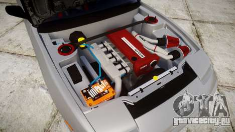 Nissan 240SX SE S13 1993 для GTA 4 вид изнутри
