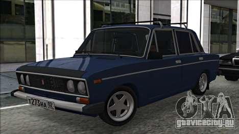 ВАЗ 2106 Russian style 2.0 для GTA San Andreas вид слева