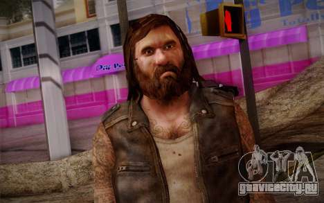 Francis from Left 4 Dead Beta для GTA San Andreas третий скриншот