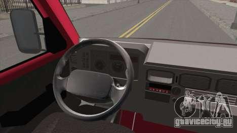 Iveco Daily 35 P для GTA San Andreas вид сзади слева
