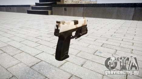 Пистолет HK USP 45 sahara для GTA 4 второй скриншот