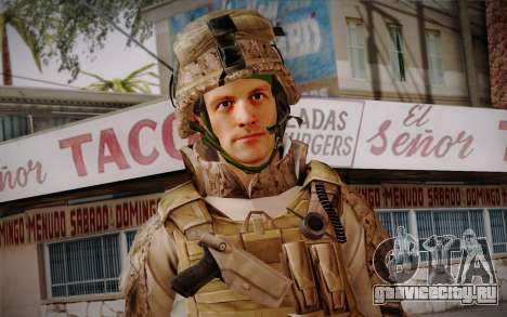 Blackburn from Battlefield 3 для GTA San Andreas третий скриншот