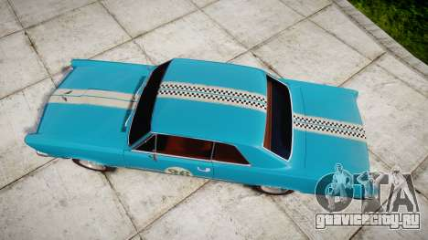 Pontiac GTO 1965 victory cars для GTA 4 вид справа