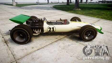 Lotus Type 49 1967 [RIV] PJ21-22 для GTA 4 вид слева