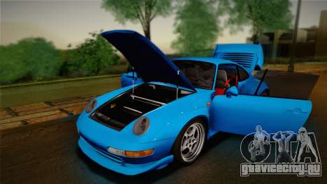 Porsche 911 GT2 (993) 1995 для GTA San Andreas вид сбоку
