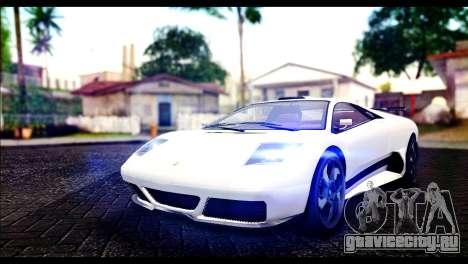 GTA 5 Pegassi Infernus для GTA San Andreas