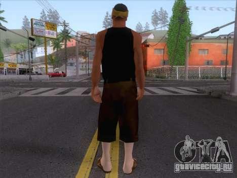 New Ballas Skin 2 для GTA San Andreas второй скриншот