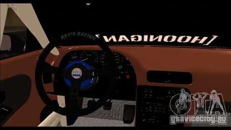 Nissan Silvia S13 Fail Crew v2 для GTA San Andreas вид сзади слева