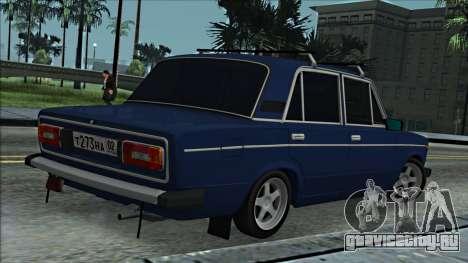 ВАЗ 2106 Russian style 2.0 для GTA San Andreas вид справа