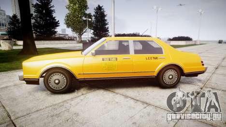 Albany Esperanto Taxi для GTA 4 вид слева