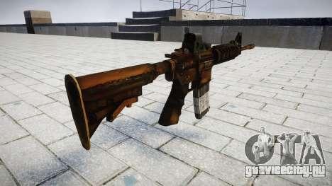 Тактический автомат M4 для GTA 4 второй скриншот