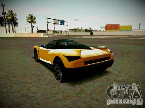 Cheetah из GTA 5 для GTA San Andreas вид слева