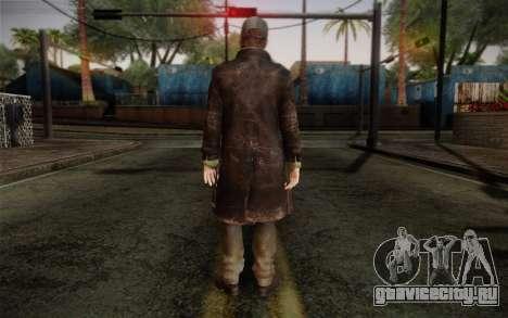 Aiden Pearce from Watch Dogs v2 для GTA San Andreas второй скриншот