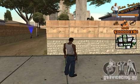 C-HUD LSW для GTA San Andreas второй скриншот
