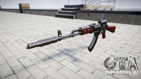 Автомат АК-47 Collimator and Muzzle brake target для GTA 4